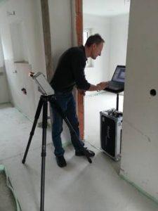 3D Aufmaß für Fremdfirmen zur genauen Erfassung der Gegebenheiten bei einem Neu- oder Umbau.