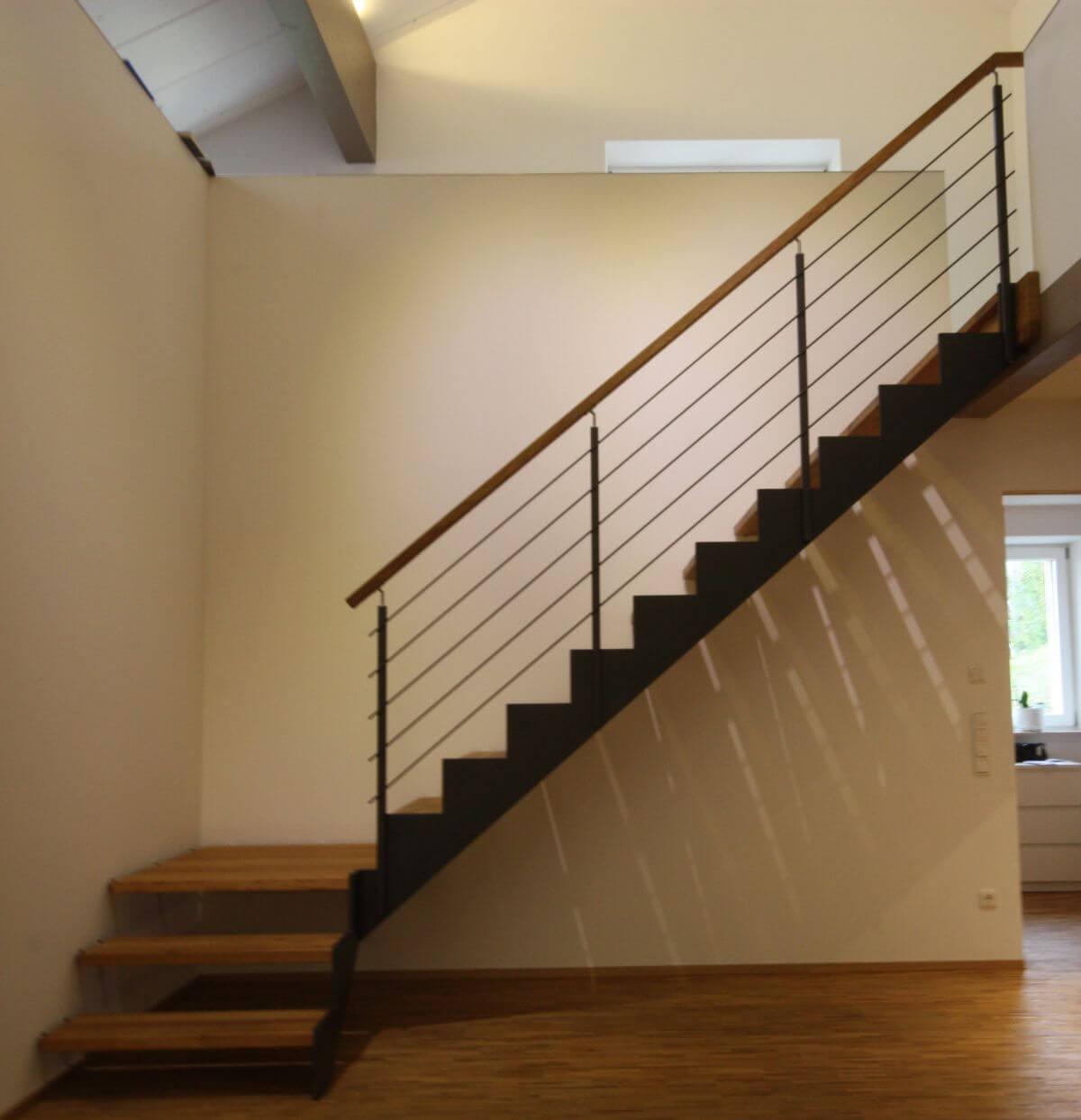 galerie stahlwangentreppe ferro friedrich treppenbau. Black Bedroom Furniture Sets. Home Design Ideas